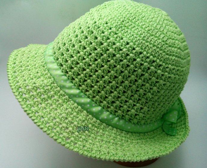 3b1a7489d86 Crochet brim hat