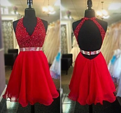 Cute O-Neck A-Line Homecoming Dresses,Short Prom Dresses,Cheap Homecoming