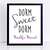 CUSTOM Dorm Sweet Dorm - Student's Names - Digital Download Print - Student