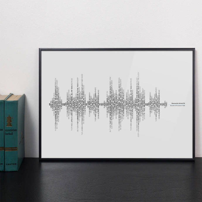 Personalised Favourite Song Sound Wave Typography Print