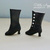 Victorian Boots for Blythe dolls and others (up to 3cm feet)- BLACK