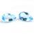 Semi Precious Loose Gemstone Sky Blue Topaz  faceted Pear 21x13 Checker Board