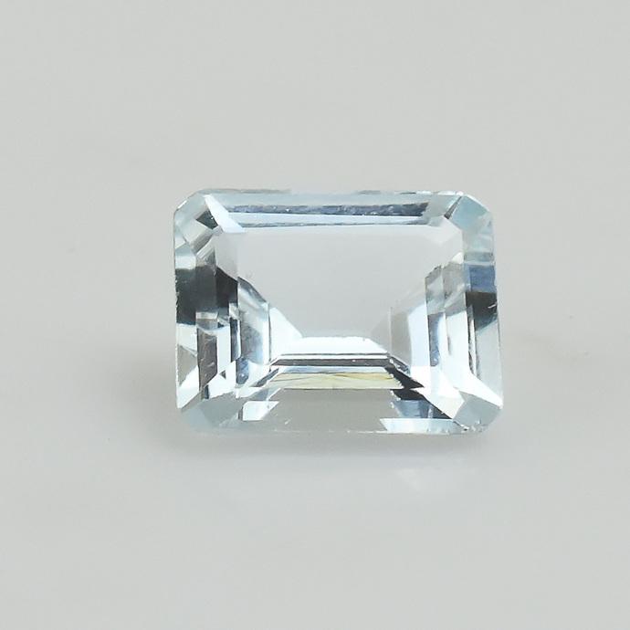 Semi Precious Brazilian Aquamarine Octagon 9X11  Flawless Loose Gemstone.