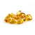 Semi Precious Citrine Faceted 8mm Heart shape Flawless Loose Gemstone.