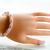 SALE; Size 8 to 9 inches;Swarovski Bracelet; Crystal Bracelet; Glass Bracelet;
