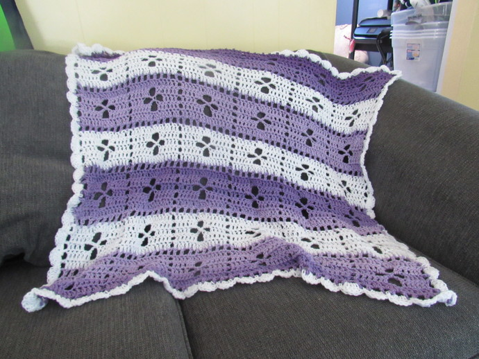 Crochet Baby Afghan Midwife By Patit Creek Creations On Zibbet