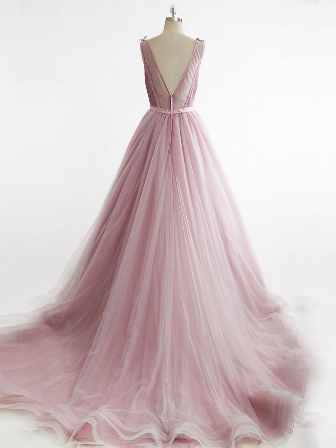 be831dea3b9 Simple Dusty Rose Cheap Prom Dresses Organza Sweet 15 Quinceanera Dresses  ...
