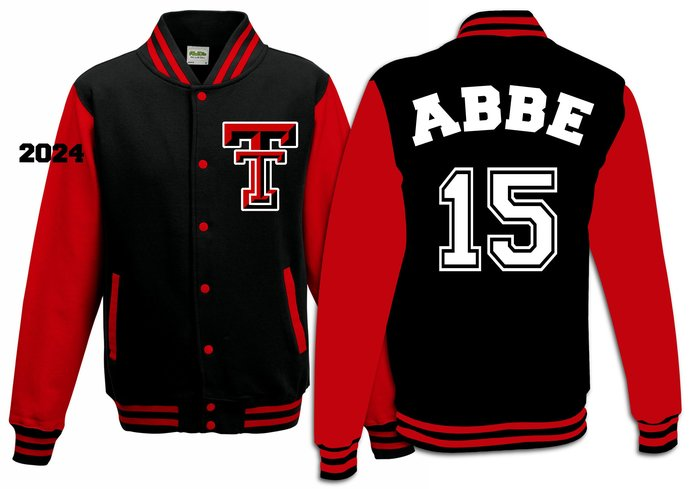 Custom order Varsity Jacket - for Kara