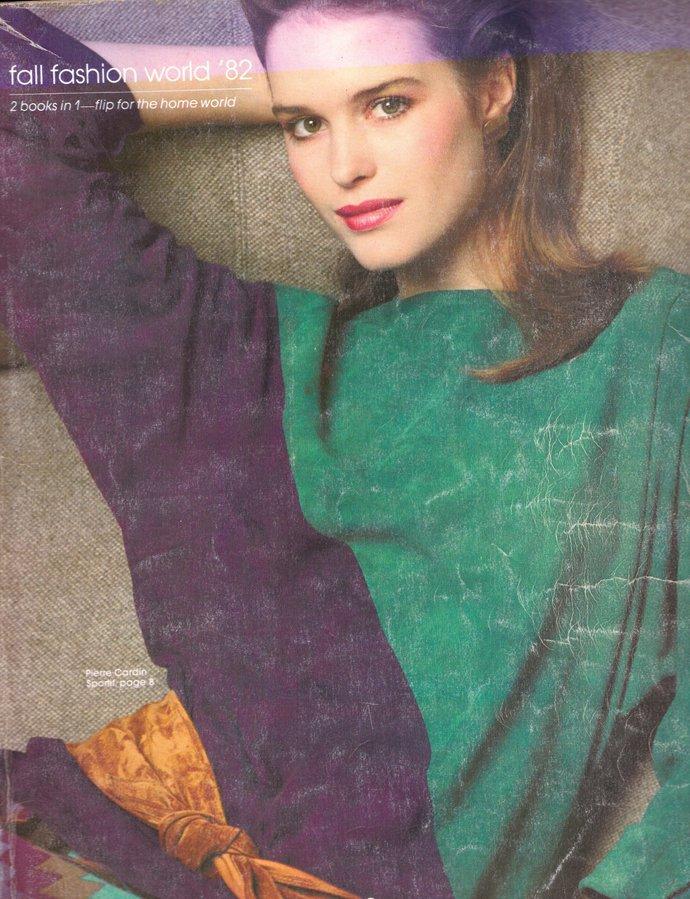 1982 Spiegel Fall Fashion Catalogue Gia Carangi Andie MacDowell Kelly Emberg