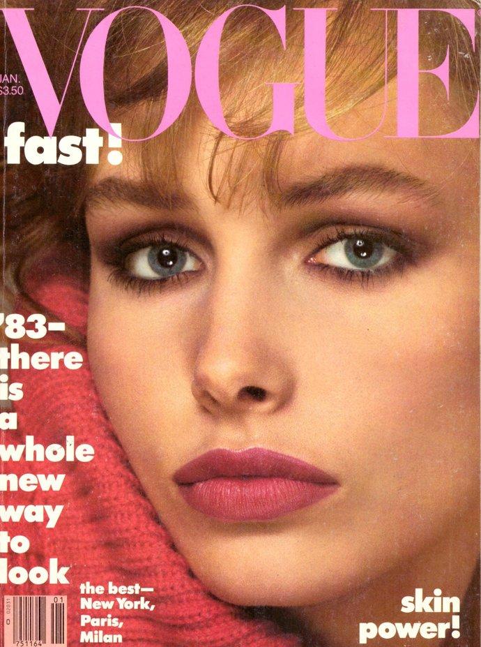 1983 Vogue Fashion Magazine Lauren Helm Bruce Chatwin Andree Putman Karl