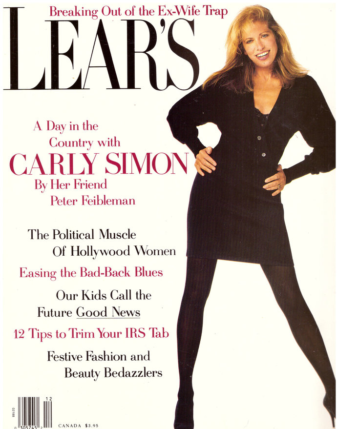 1990 Lear's Magazine Carly Simon IBM Apple Tandy Computers Leica Camera Marilyn