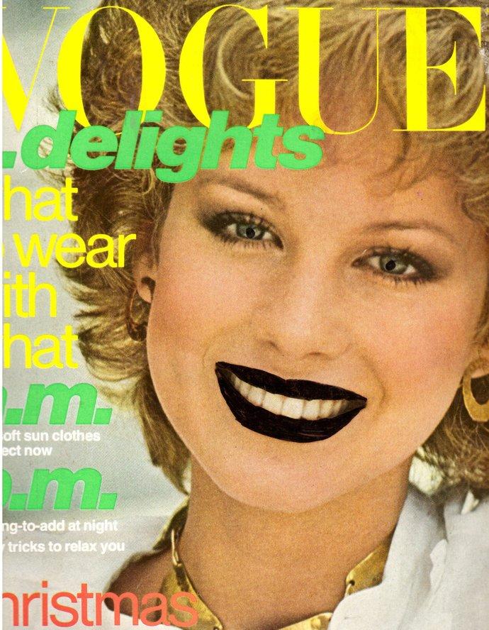1976 Vogue Fashion Magazine Rosie Vela Janice Dickinson Lisa Taylor Anorexia