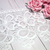 """1yd Embroidered Daisy Flower Venice Applique Lace - 4.5"""" White"""