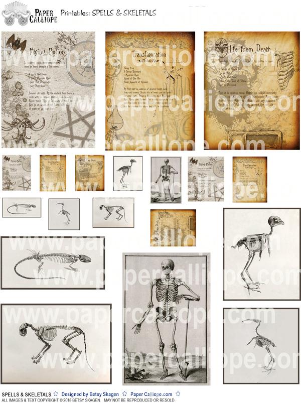 Spells & Skeletals