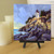 Maine Lighthouse Oil Painting Nautical Seascape Art 6x6 inches Boater or Sailor