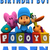 Personalized Iron-On Transfer Pocoyo Friends Party T Shirt with Name