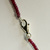 Genuine Pigeon Blood Red Ruby Faceted Beaded Statement Necklace In 925 Sterling