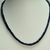 GORGEOUS 155 Ct Faceted Blue Sapphire Rondelle Shape Beaded Necklace In 925