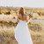 Gorgeous A-line Strapless White Long Wedding Dress, Tulle Bridal Gowns