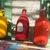 Vintage Water Flasks, 3 Water Flasks, Hiking Flask, French Bottles, Water Flask,