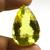 Lagre ! Lemon Quartz Faceted  Pear checker board Flawless  Loose Gemstone