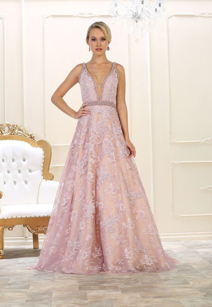 Long Evening Gown Prom Formal Couture Dress , Formal Prom Dress ,Party