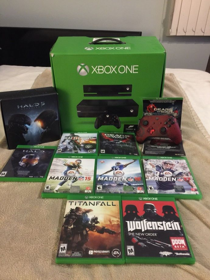 xbox one plus Extras Games And Controllers