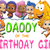 Personalized Iron-On Transfer Bubble Guppy Girl Birthday Party T Shirt with Name