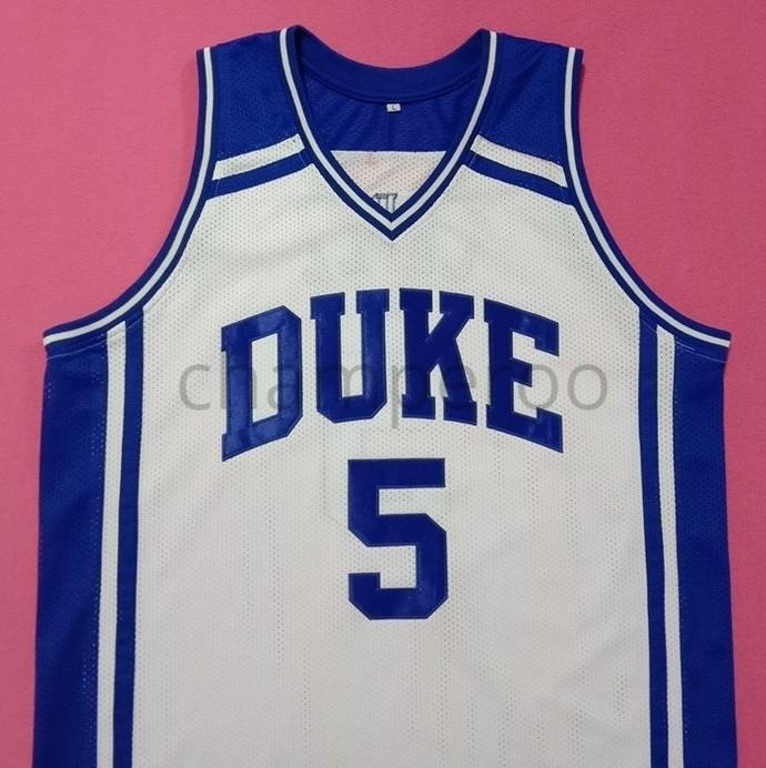 975e116ad4a Jeff Capel III Duke Blue Devils White College Jersey Many Size Unisex