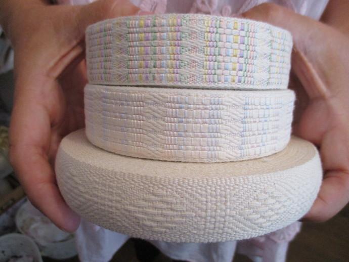 3yd Thick Woven Linen Braid - Read Description