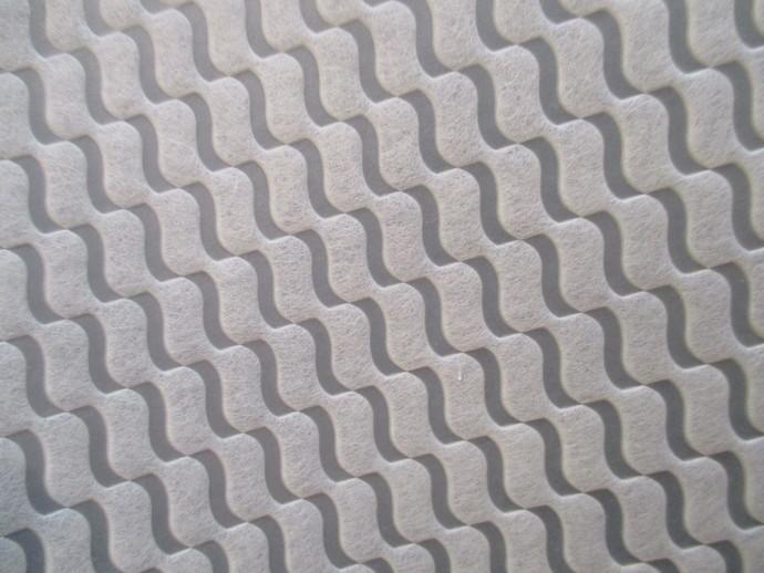 1yd  Non-Woven Soft Cream Fabric