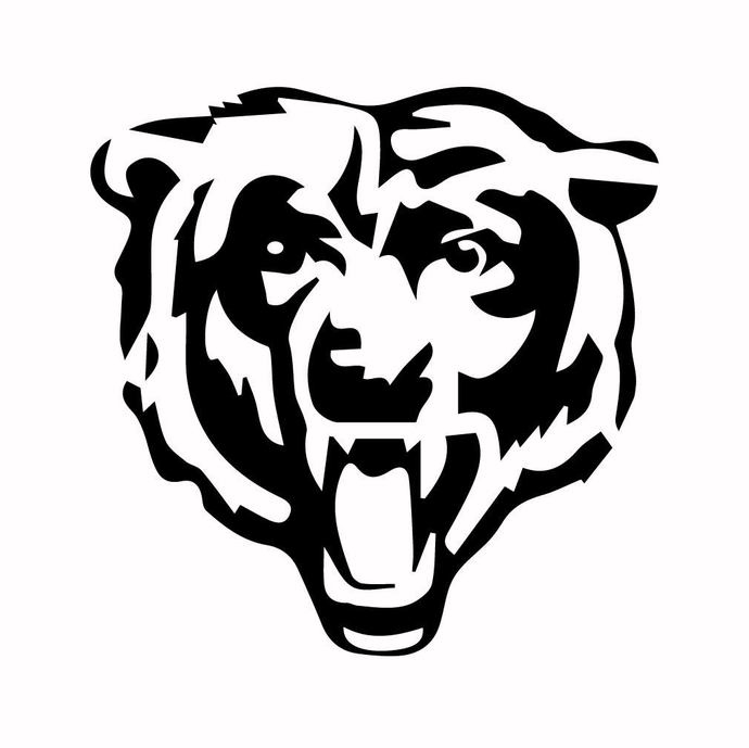 Grizzly Bear 04 graphics design SVG DXF PNG PDF AI EPS Vector Art Clipart
