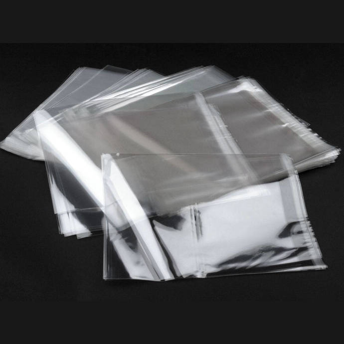 Clear Plastic Self-Adhesive Seal Bags - Many sizes