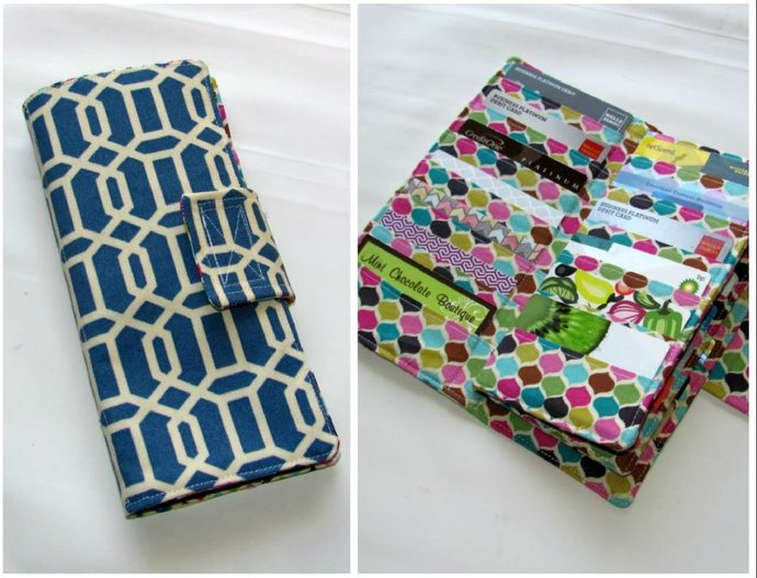 Credit Card Wallet, Credit Card Organizer, Business Card Holder, Card Organizer,