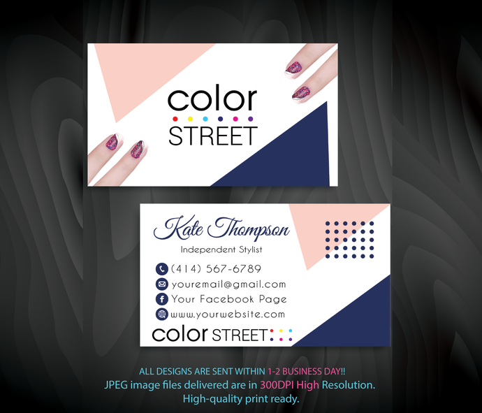 Personalized color street business cards color by digitalart on personalized color street business cards color street business cards color reheart Gallery