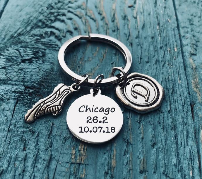 Chicago 26.2, Date, Chicago Marathon, Runners, Running, Marathon bracelet,