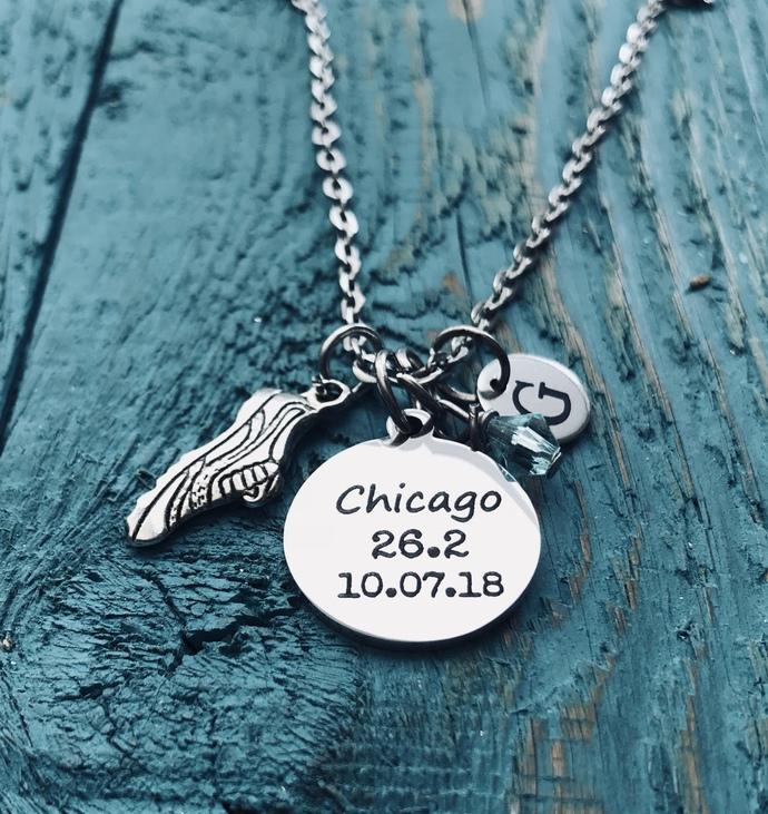 Chicago 26.2, Date, Chicago Marathon, Runner's, Running, Marathon, Runner Gift,