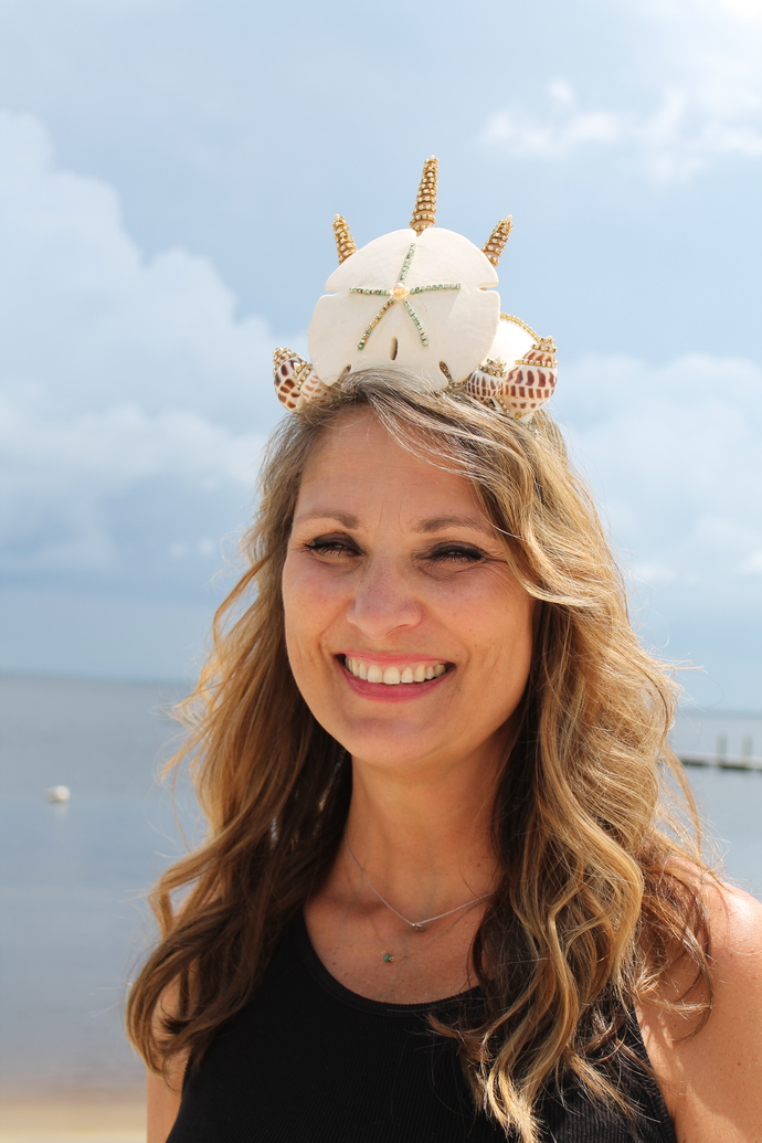 MerQueen Crown with Sand Dollar