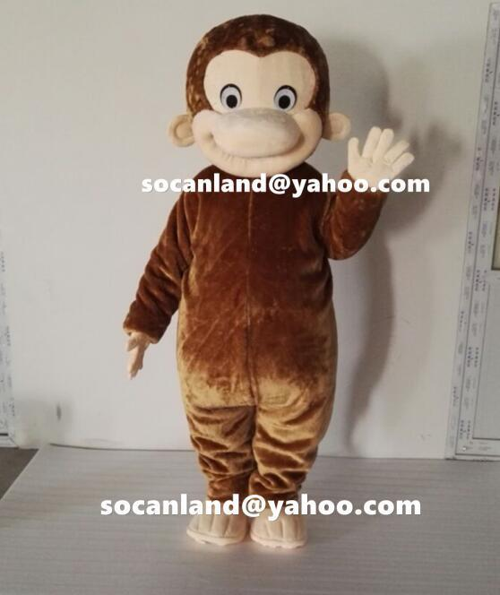 Curious Monkey Costumes,Cute Monkey Mascots,Curious Monkey Kids Costumes,Kids