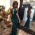 Long prom dresses, high neck prom dresses, mermaid prom dresses, sexy prom
