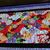 """Handmade Quilted Table Runner Japanese Garden Fabric, Red, Purple, Black 50 """" x"""