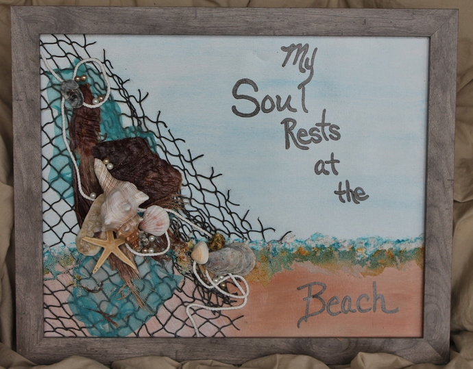 My Soul Rests at the Beach