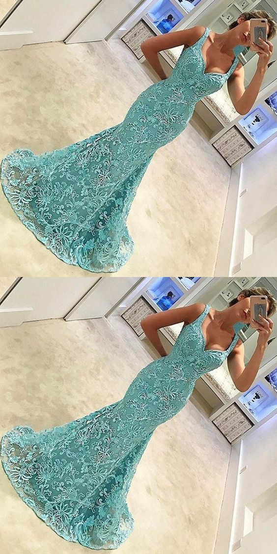 Cheap homecoming dresses lace mermaid prom dresses, mermaid prom dresses with