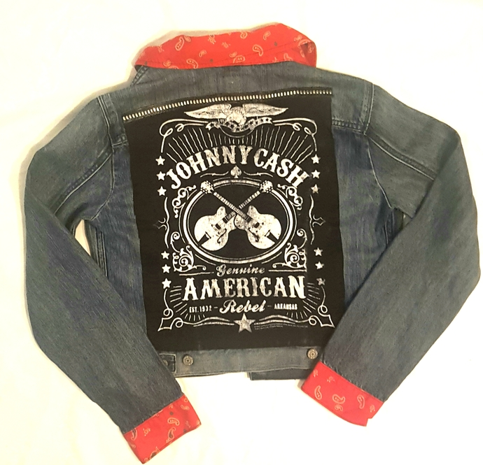 Womens Levi's Johnny Cash Jacket-small/med fit