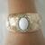 Moonstone Cuff Bracelet boho bohemian hippie gypsy new age metaphysical handmade