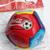 "Coca Cola Fifa World Cup Korea Japan 4"" Soccer Ball Football (Mascot Pattern)"