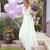 Long Sleeve Backless Ivory Wedding Dresses Lace&Satin Rustic Wedding Dress