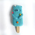 Popsicle Bear - Bubble Gum, needle felted Art Toy, collectible wool plush toy