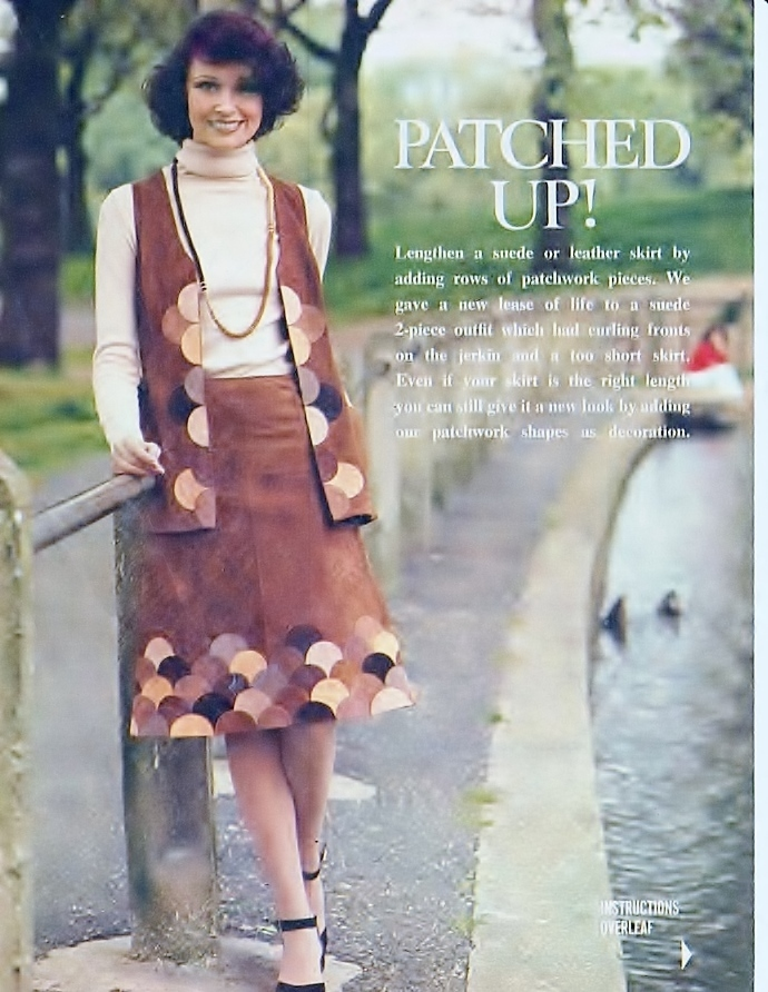 Instant PDF Digital Download Vintage Chart Sewing Pattern to Lengthen a Ladies