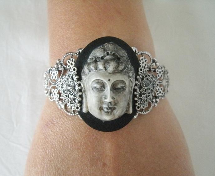 Buddha Bracelet buddhist zen new age hippie yoga bohemian boho jewelry